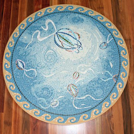 Jellyfish floor insert
