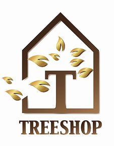Logo portrays quality trees for sale at treeshop