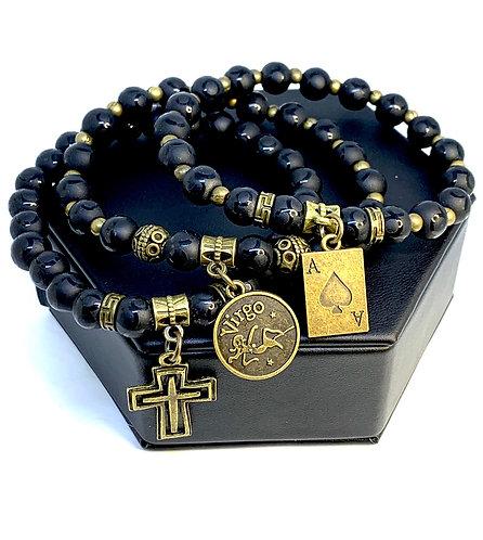 """Onyx """"Mystic"""" Bracelet Set (3)"""