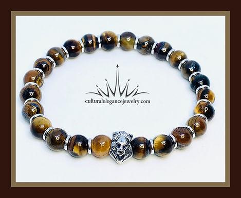 "Tiger's Eye ""Lion"" Bracelet"