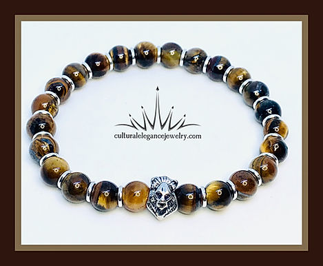 "Tiger's Eye ""Lion"" Bracelet"