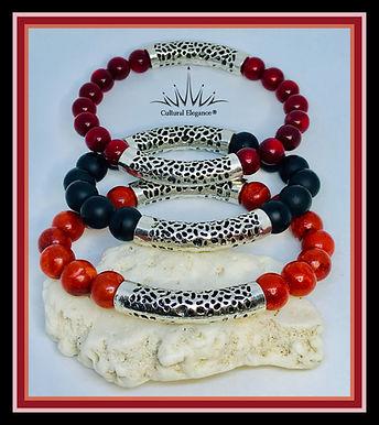 Silver Tube Bracelet!
