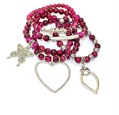 Sweetheart  Bracelet Set