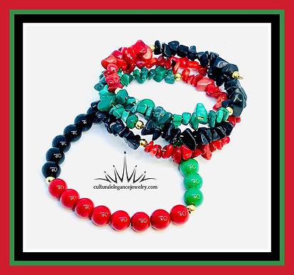 3 in 1 Liberation Wrap Bracelet Set