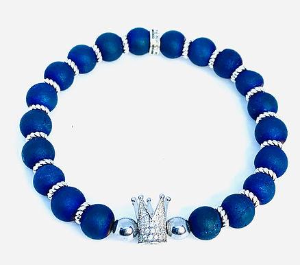 Druzy Stone Crown Bracelet