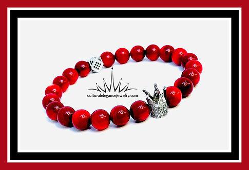 Red Jasper King Bracelet (Mood Stabilization)