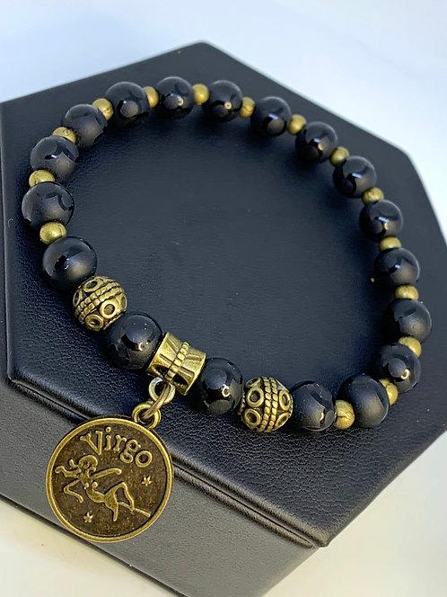 """Onyx """"Zodiac"""" Bracelet"""