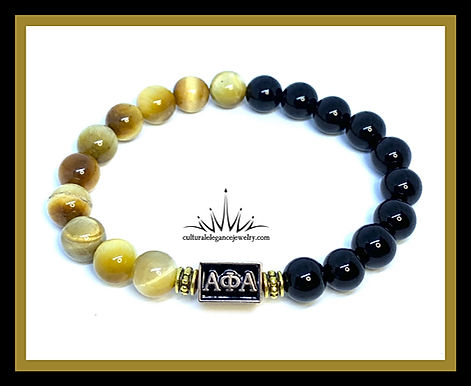 Alpha Phi Alpha Bracelet (two-toned)