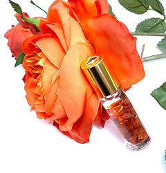 """Energy & Creativity""  Carnelian Crystal Essential Oil Blend"