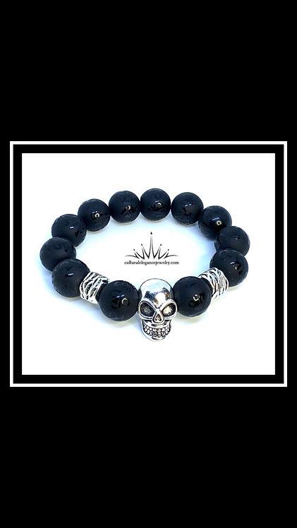 Skull Bracelet (Large, 14mm)