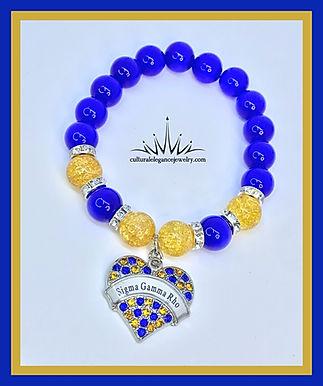 "Sigma Gamma Rho ""Inspired"" Bracelet"