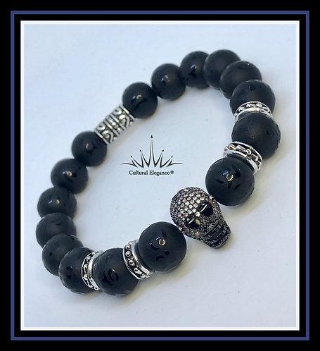 Skull Bracelet (Black)