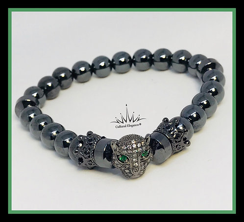 Panther Bracelet (Green Eyes)