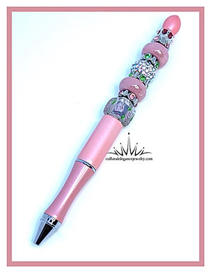 """""""Pink and Roses"""" Boss Lady Pen"""