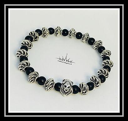 Lion Bracelet - Silver Metal