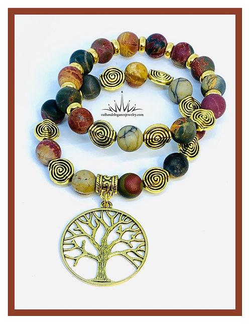 Tree of Life Bracelet Set (3 options)