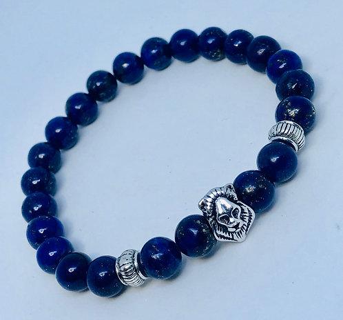 Lapis Lion Bracelet