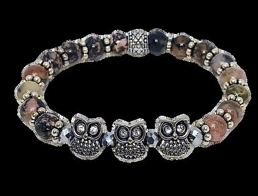 3 Owls Bracelet