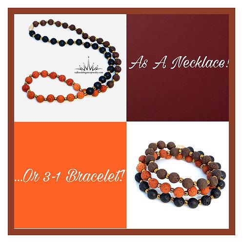 Necklace/3 in 1 Bracelet (Fall)