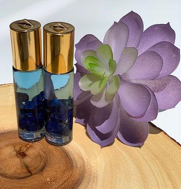 Intuition & Inner Wisdom Lapis Lazuli Crystal Essential Oils