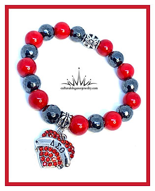 "Delta Sigma Theta ""Inspired"" Bracelet"