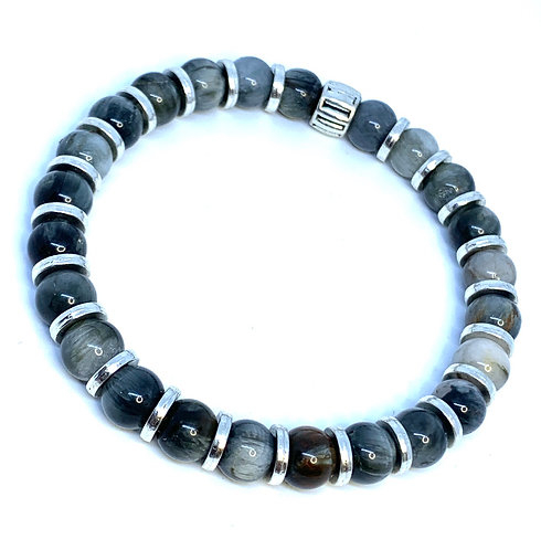 Magnetic Hematite and Tiger's Eye (2 options)