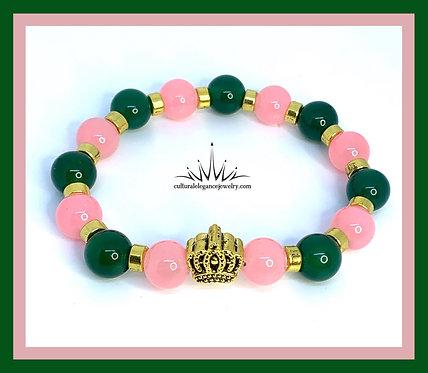 "Inspired ""AKA"" Crown Bracelet Stack"
