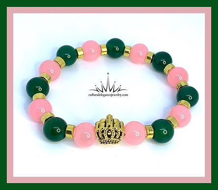 """Inspired """"AKA"""" Crown Bracelet Set"""