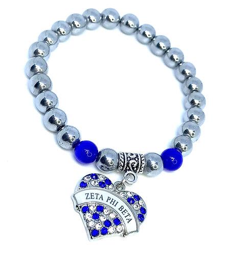 Zeta Phi Beta Sorority Bracelet