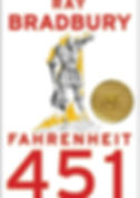 "Book Cover of Ray Bradbury's ""Fahrenheit 451"""