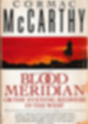 "Book Cover of Cormac McCarty's ""Blood Meridian"""