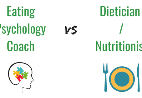 How I am Different from a Dietician or a Nutritionist?