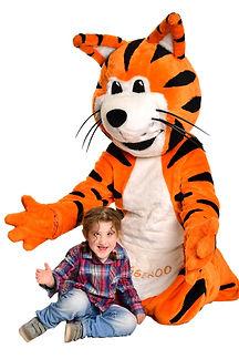 Tiggeroo Jump Children's Charity Mascot