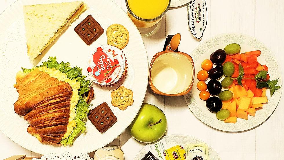 Desayuno de Amor en Fuente