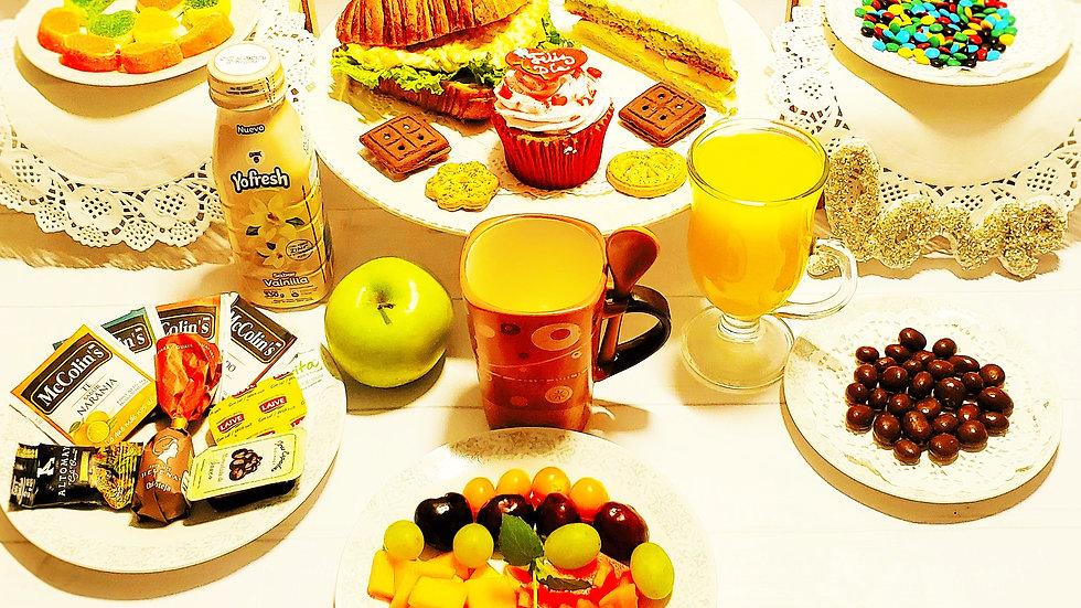 Desayuno de Amor en Canasta