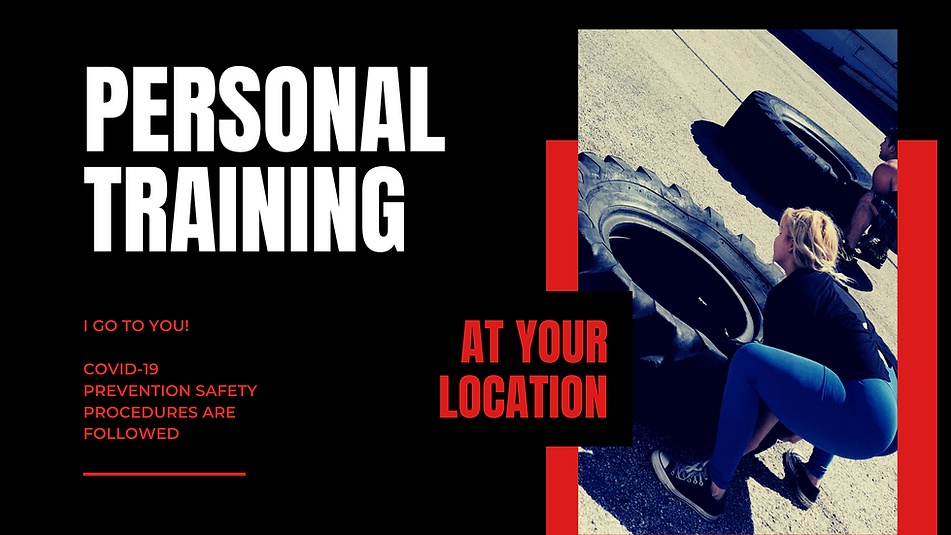Personal Training At Your Location