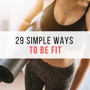 29 Simple Ways To be Fit By Juan Bazan Fitness woman foam roller