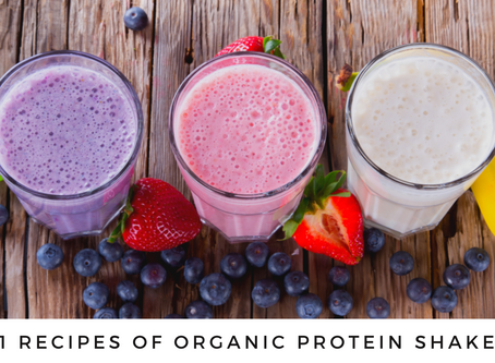 31 Recipes Of Organic Protein Shakes