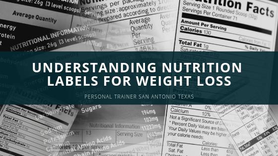 Nutrition Labels