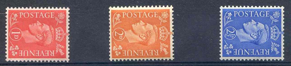 SG486a/489a Unmounted mint