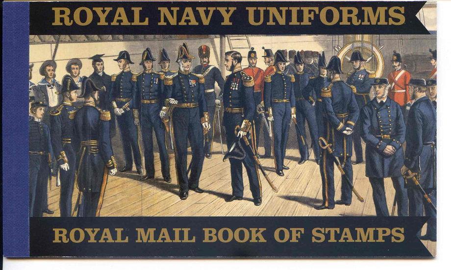 DX47 Royal Navy Uniforms Prestige Booklet