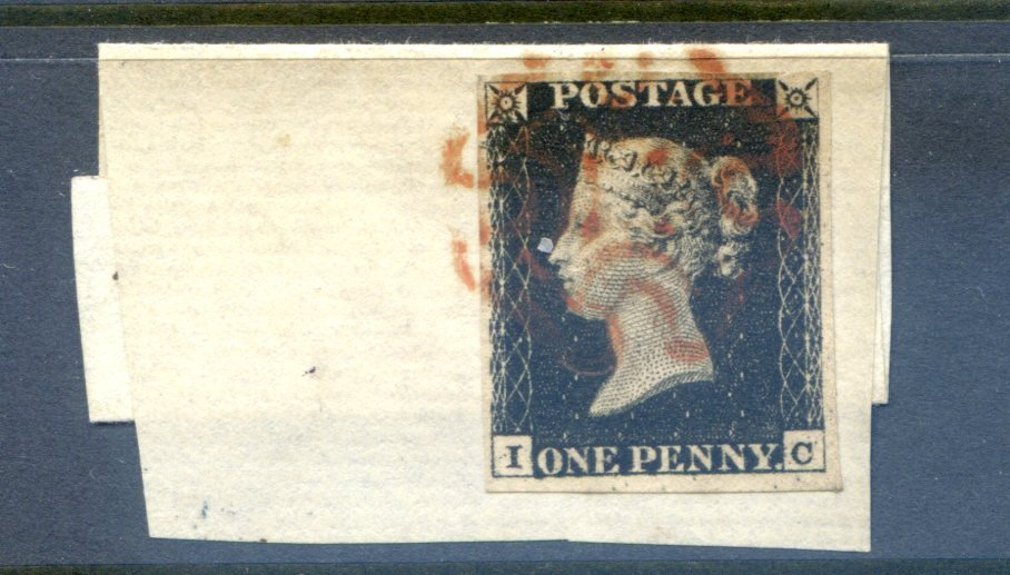 Penny Black (IC) Plate 4
