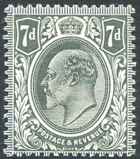 SG305 7d Slate Grey Unmounted Mint