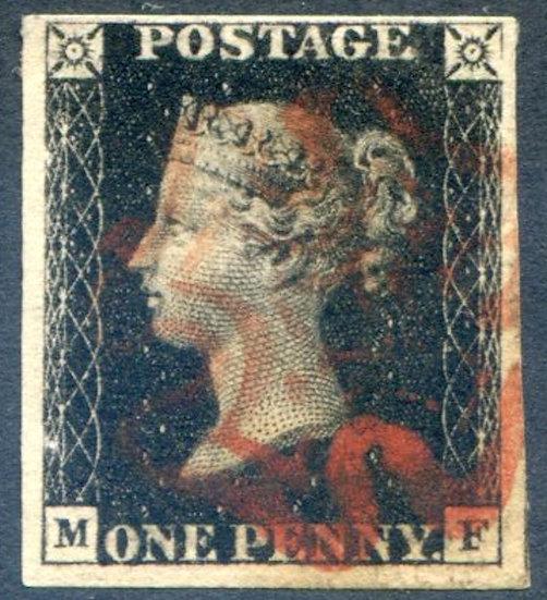 Penny Black (MF) Plate 5