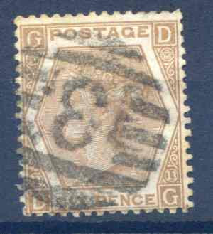 SG122a 6d Chestnut Fine Used