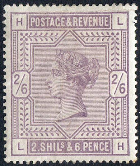 SG178 2/6 Lilac Mounted Mint