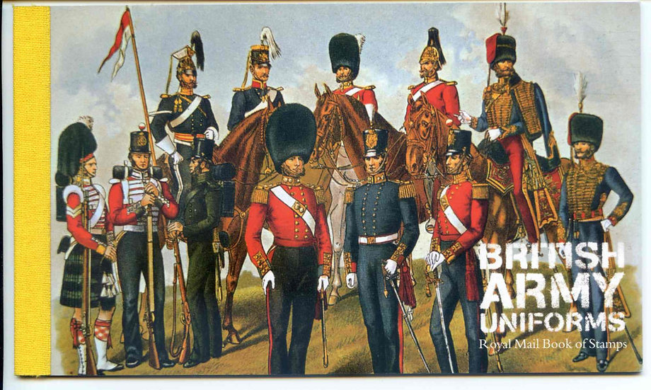DX40 British Army Uniforms Prestige Booklet