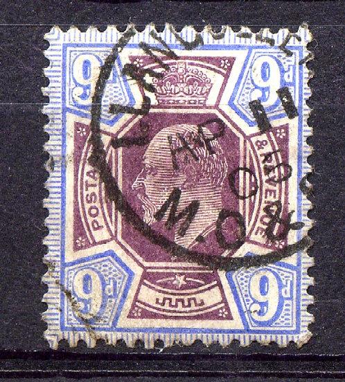 SG251 9d Slate Purple & Ultramarine Fine Used