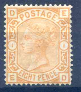 SG156 8d Orange Unused