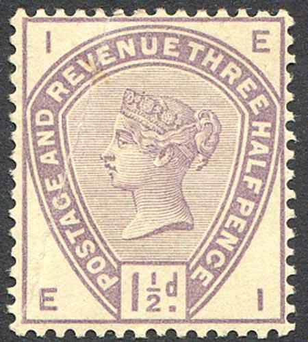 SG188 Var 1 1/2d Colour Trial (Bend) Unmounted Mint